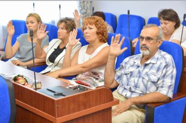 С заседания районного совета депутатов