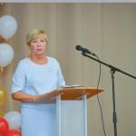 На педсовете с докладом выступила начальник отдела образования Подольского района Татьяна Бежанова