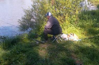 Ветераны соревновались в рыбной ловле
