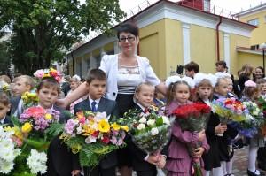 1 сентября в Дубровицкой школе им. Героя России А. Монетова