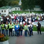 Акция памяти жертв террористических актов в Дубровицах