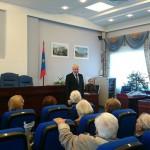 Николай Москалёв  поздравляет ветеранов с Днем пожилого человека