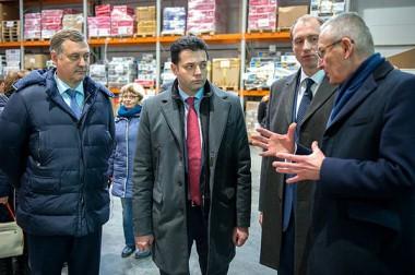 Министр стройкомплекса области посетил Подольск