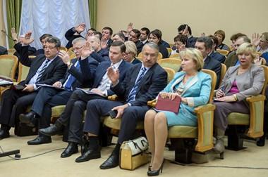 Шестое заседание Совета депутатов Подольска