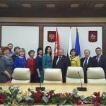Делегация Совет депутатов Подольска в Мособлдуме