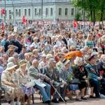 Митинг, посвященный Дню Победы в Подольске