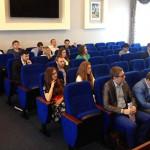Кандидаты в Молодежный парламент Подольска представляют свои программы конкурсной комиссии.