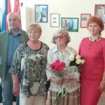 Поздравление с 90-летием заслуженного жителя А.Г. Колосовой