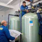На водозаборной станции в селе Сынково МУП «Водоканал» проводит активные работы для улучшения качества воды