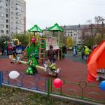 В Большом Подольске 6 октября открыли три новые детские игровые площадки