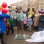 В День народного единства в Подольске торжественно открыли бульвар имени кинорежиссера Евгения Карелова