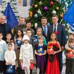 В Большом Подольске прошло новогоднее представление «Остров забытых сказок» для детей из многодетных и малообеспеченных семей