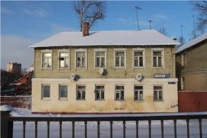 жилой дом купца Щёкина-Юркина (сер. XIX – 2-я пол. XIXвв., проспект Ленина, 110)