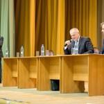 В микрорайоне «Львовский» 22 марта прошла встреча жителей с руководством администрации Большого Подольска