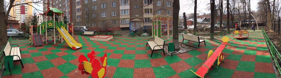 Установлен детский городок по ул. Комсомольская, д. 68