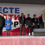 В Подольске прошла акция «Вместе против терроризма» в память о пострадавших в теракте в Санкт-Петербурге 6 апреля 2017