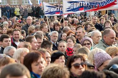 В Подольске прошла акция «Вместе против терроризма» в память о пострадавших в теракте в Санкт-Петербурге