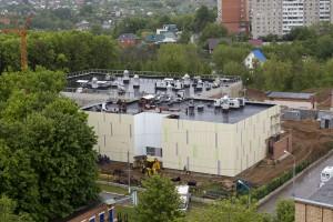 Строительство Онкорадиологического центра в Подольске