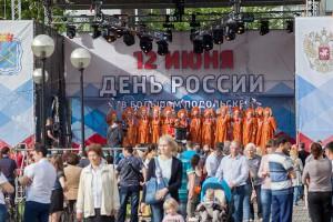 Более 24 000 человек стали участниками праздничных мероприятий в честь Дня России в Большом Подольске