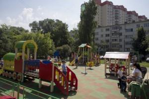 53 дворовых территории Большого Подольска будут благоустроены этим летом