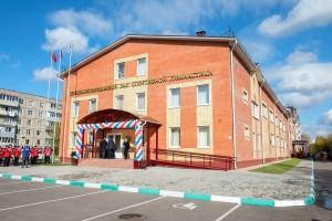 Новый современный зал спортивной гимнастики открыт 8 октября в поселке Железнодорожный
