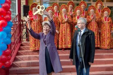 В микрорайоне Лаговский 8 октября открыт новый культурно-досуговый центр