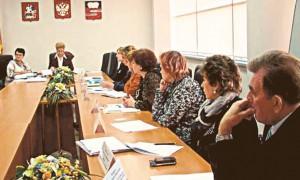 Заседание комиссии по делам несовершеннолетних г. Климовска