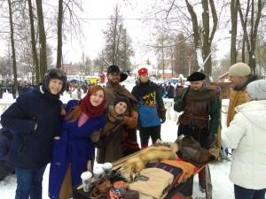 За два дня Широкой Масленицы в Большом Подольске испекли более 10 тысяч блинов