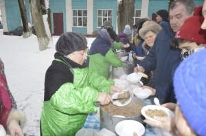 За два дня Широкой Масленицы в Подольске испекли более 10 тысяч блинов