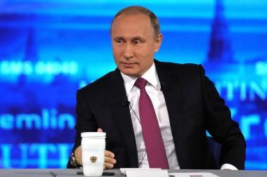 Прямая линия с Владимиром Путиным состоится 7 июня