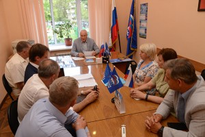 Круглый стол по партийному проекту «Российское село» состоялся в общественной приемной «Единой России»