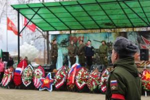 «Вахта памяти» торжественно завершилась 27 октября на Мемориальном комплексе воинской славы «Кузовлево»