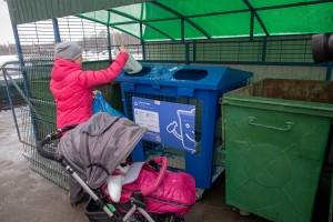 В Городском округе Подольск устанавливают разноцветные контейнеры для раздельного сбора мусора