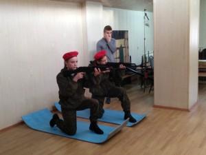 Региональная военно-патриотическая игра «В белоснежных полях под Москвой»
