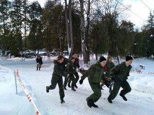 Региональная военно-патриотическая игра «В белоснежных полях под Москвой» прошла в Городском округе Подольск