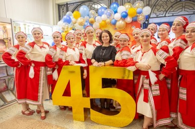 Дому культуры «Металлург» микрорайона Львовский – 45 лет