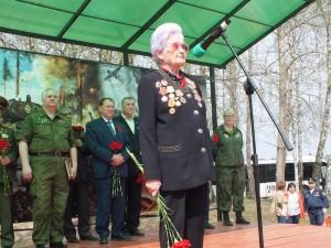Торжественное открытие «Вахты памяти» – 2019 состоялось в деревне Кузовлево 27 апреля