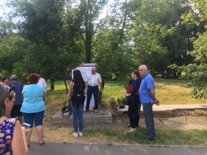 Встреча с жителями по вопросам благоустройства состоялась при участии Николая Москалева