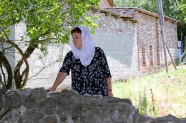 Мама Героя России Александра Монетова совместно с сотрудниками Подольского ОМОНа побывала на месте гибели сына в Чеченской Республике