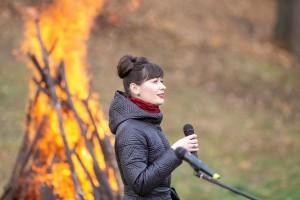 В Дубровицах в 18-ый раз зажгли Цветаевский костер 14 октября 2019