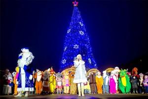 В новогоднюю ночь в Большом Подольске праздничные мероприятия пройдут на 10 площадках