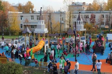 Десять детских игровых площадок установят по результатам народного голосования в Городском округе Подольск