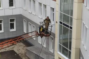 Завершается строительство поликлиники в Большом Подольске