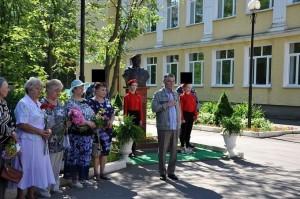 В Дубровицах почтили память Героя России Александра Монетова