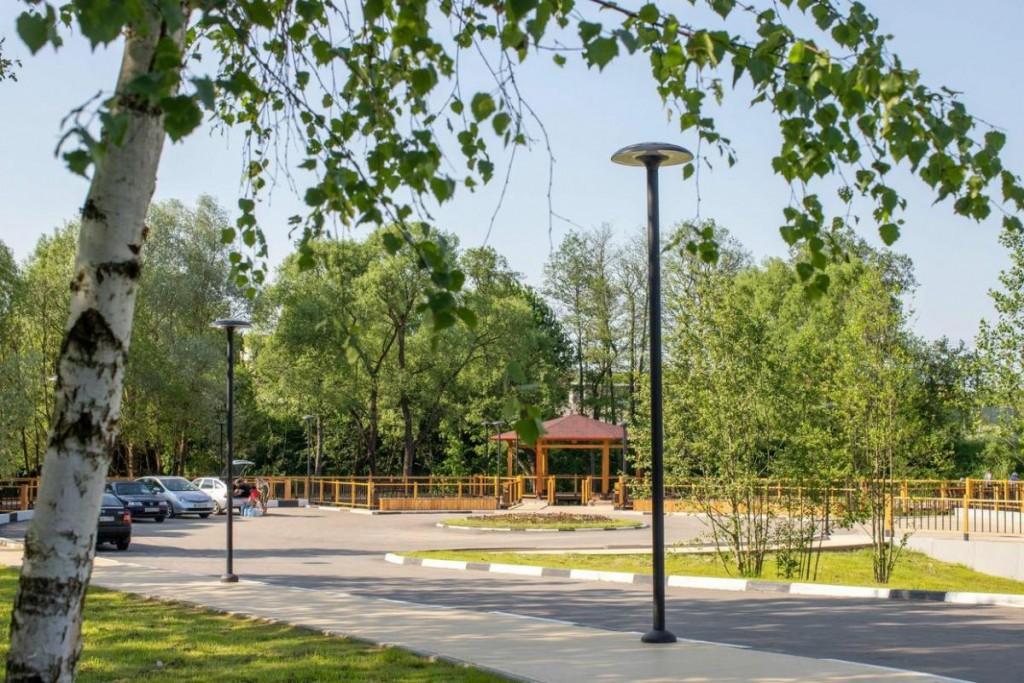 Завершено благоустройство родниковой зоны в деревне Валищево