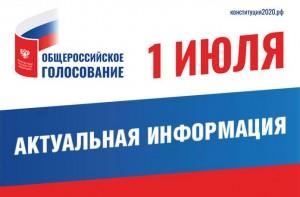С 16 июня начнётся прием заявлений по вопросу одобрения изменений в Конституцию РФ по месту нахождения