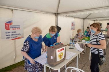 141 территориальная избирательная комиссия приступила к работе в Большом Подольске