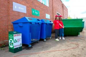 Первая площадка для приема крупногабаритных отходов «Мегабак» открылась в Подольске