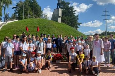 Памятная акция, посвященная подвигу Героя Советского Союза Виктора Талалихина, состоялась в Большом Подольске