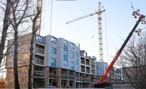 Строительство дома продолжили в поселении Рязановское